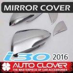 [AUTO CLOVER] Hyundai i30 PD - Side Mirror Chrome Molding Set (D834) - LED Type