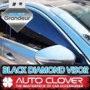 [AUTO CLOVER] Hyundai Grandeur iG - Black Diamond Visor Set (D942)