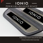 [CHANGE UP] Hyundai Ioniq​ - LED Door Sill Scuff Plates Set