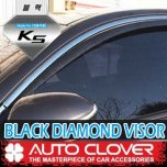 [AUTO CLOVER] KIA All New K5 - Black Diamond Visor Set (D941)