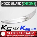 [AUTO CLOVER] KIA All New K5 - Emblem Hood Guard Chrome Molding (D975)