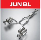 [JUN,B.L] KIA Stinger 3.3 T-GDI - GT Cat-back system (JBLK-33CKVGB)