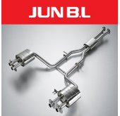 [JUN,B.L] KIA Stinger 3.3 - RACING Cat-back system (JBLK-33CKFRB)