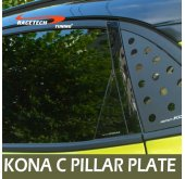 [RACETECH] Hyundai Kona - Glass C Pillar Mirror Plate Set