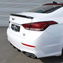 [M&S] Hyundai Genesis DH - Trunk Rear Lip Spoiler