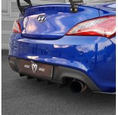 [M&S] Hyundai New Genesis Coupe - Rear Diffuser