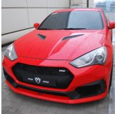 [M&S] Hyundai New Genesis Coupe - Ghost Shadow Front Bumper