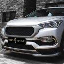 [VEGA STYLE] Hyundai Santa Fe DM / The Prime - Front Lip + Grille set