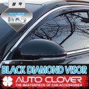 [AUTO CLOVER] KIA All New K7 - Black Diamond Visor Set (D948)