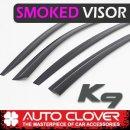 [AUTO CLOVER] KIA K9 - Smoked Door Visor Set (D041)