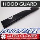 [AUTO CLOVER] Hyundai Porter II - Emblem Hood Guard Black Molding (D580)