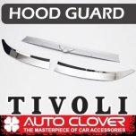 [AUTO CLOVER] SsangYong Tivoli - Emblem Hood Guard Chrome Molding (D976)