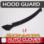 [AUTO CLOVER] Hyundai LF Sonata - Emblem Hood Guard Black Molding (D596)