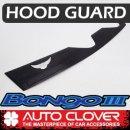 [AUTO CLOVER] KIA Bongo III - Emblem Hood Guard Black Molding (D581)