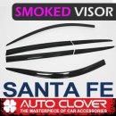 [AUTO CLOVER] Hyundai Santa Fe TM - Smoked Door Visor Set (D993)