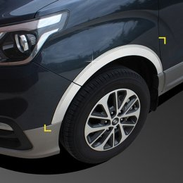 [KYOUNG DONG] Hyundai Grand Starex 2018 - Fender Chrome Molding (K-902)