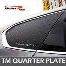 [RACETECH] Hyundai Santa Fe TM - 3D Quarter Glass Plate Set