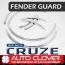 [AUTO CLOVER] Chevrolet Cruze 2017 - Fender Chrome Molding Set (C622)
