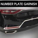 [AUTO CLOVER] Hyundai Grandeur iG - Chrome Number Plate Garnish (D895)