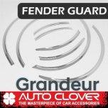 [AUTO CLOVER] Hyundai Grandeur iG - Fender Chrome Molding Set (C618)