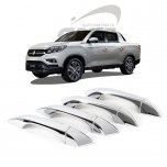 [KYOUNG DONG] SsangYong Rexton Sports -  Door Catch Chrome Molding Set (K-801)
