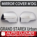 [AUTO CLOVER] Hyundai Grand Starex / Urban - Side Mirror Chrome Molding (B136)