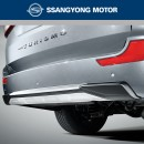 [SSANGYONG] SsangYong Korando Turismo 2016 - Rear Skid Plate Set