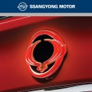 [SSANGYONG] SsangYong Korando C - LED Rear Wing Emblem