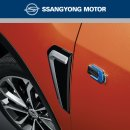 [SSANGYONG] SsangYong Tivoli / Air - Fender Garnish Set