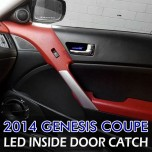 [LEDIST] Hyundai The New Genesis Coupe - LED Inside Door Catch Plates Set Ver.2