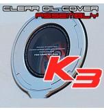 Лючок бака прозрачный + крышка - KIA K3 (EXOS)