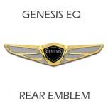 [LEDIST] Genesis EQ900 - GENESIS Gold 24K Rear Emblem