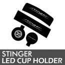 [LEDIST] KIA Stinger - LED Cup Holder & Console Plates Set Ver.2