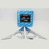 [AUTO CLOVER] KIA All New Morning - Mirror Bracket Chrome Molding Set (B428)