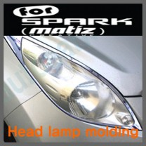 [KYOUNG DONG] Chevrolet Spark - Head Lamp Chrome Molding Set (K-963)