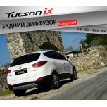 [SQ BASIC] Hyundai Tucson iX - Rear Diffuser Set