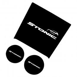 [LEDIST] KIA Stonic - LED Cup Holder & Console Plates Set Ver.2
