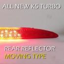 Рефлекторы задние LED с иллюминацией - KIA All New K5 Turbo (LEDIST)