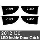 [LEDIST] Hyundai New i30 - LED Inside Door Catch Plates Set VER.2