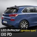 [LEDIST] Hyundai i30 PD - Rear Bumper Reflector Set