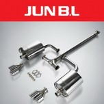 [JUN,B.L]  Hyundai YF Sonata T-GDi - Twin Rear Section Muffler (JBLH - 20YFTR)