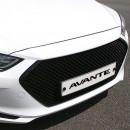 [DAWON] Hyundai Avante AD - BENTLEY Style Grille (Black)