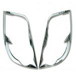 [AUTO CLOVER] Chevrolet Aveo Hatchback - Rear Lamp Chrome Molding Set  (C411)