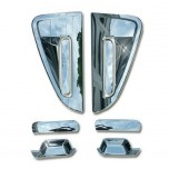 [AUTO CLOVER] Chevrolet Spark - Door Catch Chrome Molding Set (A299)