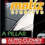 [AUTO CLOVER] Chevrolet Spark - A Pillar Chrome Molding Set (A733)