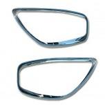 [AUTO CLOVER] KIA All New Morning -  Head Lamp Chrome Molding Set (B716)