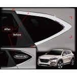 [AUTO CLOVER] Hyundai All New Tucson - C Pillar Chrome Molding Set (B936)