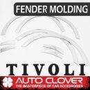 [AUTO CLOVER] SsangYong Tivoli / Air - Fender Chrome Molding (C218)