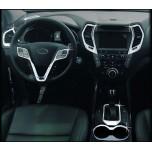 [AUTO CLOVER] Hyundai Santa Fe - Interior Chrome Molding Kit (C673)