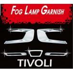 [AUTO CLOVER] SsangYong Tivoli - Fog Lamp Chrome Molding Set (D810)